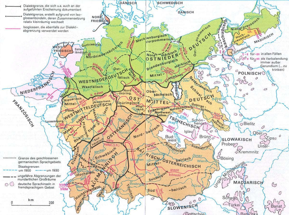 Dialekt Bayern
