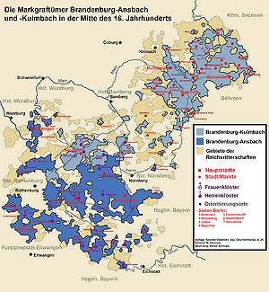 Landstande Der Markgraftumer Brandenburg Ansbach Und Brandenburg