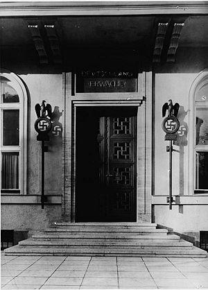 Braunes Haus braunes haus münchen historisches lexikon bayerns