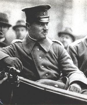 Freikorpsführer Hermann Erhardt
