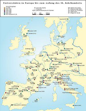 Universitaten Spatmittelalter Historisches Lexikon Bayerns