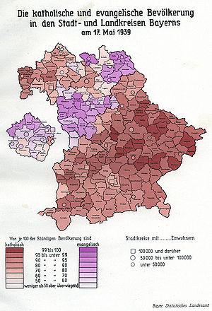 Konfessionsstruktur 19 20 Jahrhundert Historisches Lexikon