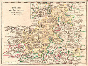 Karte Bamberg Landkarte.Bamberg Hochstift Territorium Und Struktur Historisches
