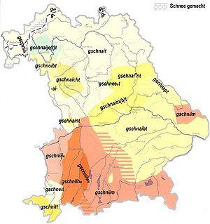 Bayerische Dialekt
