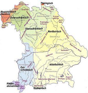 Bairisch Dialekt