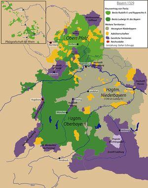 Karte Oberbayern.Territorialentwicklung In Altbayern 1180 1505 Historisches