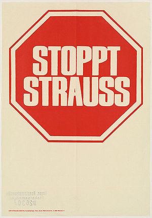 Stoppt Strauß