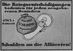 Reparationen Weimarer Republik Historisches Lexikon Bayerns